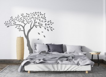 naklejka na ścianę drzewo