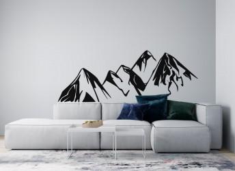 naklejki na ścianę góry