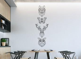 naklejki na ścianę loft