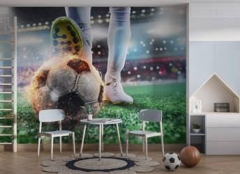 fototapeta boisko do piłki nożnej