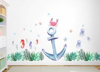 Naklejki na ścianę OCEAN,...