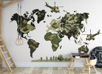 Naklejki na ścianę MAPA...