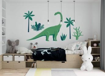 naklejki na ścianę dla dzieci dinozaury
