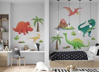 naklejki do pokoju dziecka dinozaury