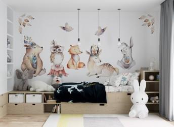 naklejki na ścianę ze zwierzętami