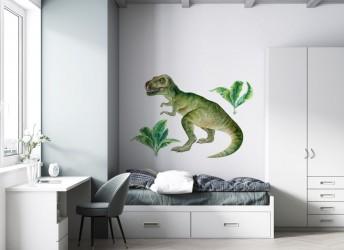 naklejka na ścianę dinozaur