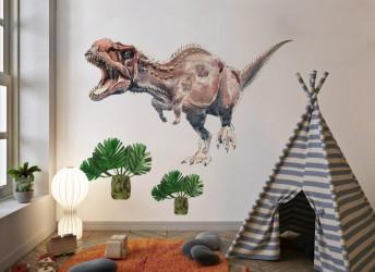 Naklejka na ścianę tyranozaur