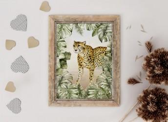 Plakat SAWANNA gepard
