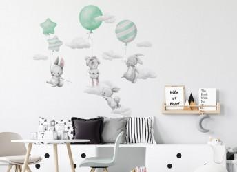 Naklejki na ścianę do pokoju dziecięcego