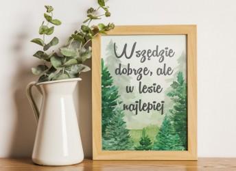 plakat z cytatem dla dzieci