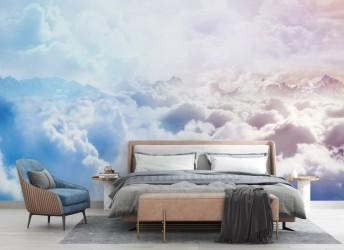 fototapeta do sypialni niebo