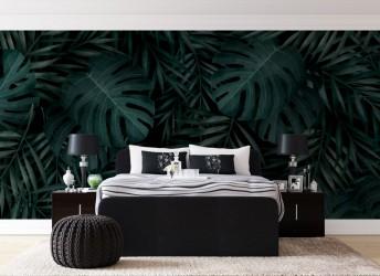 fototapeta na ścianę tropikalne liście