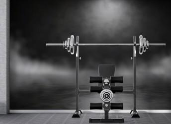 fototapeta 3D do siłowni