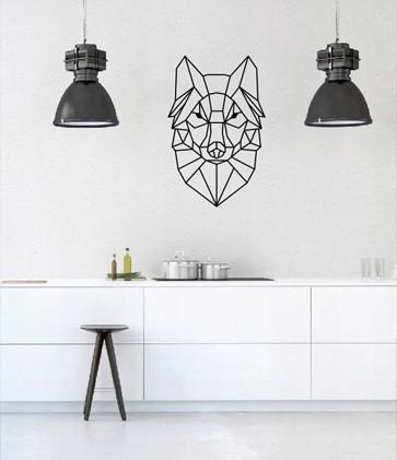 Naklejki na ścianę w różnych stylach