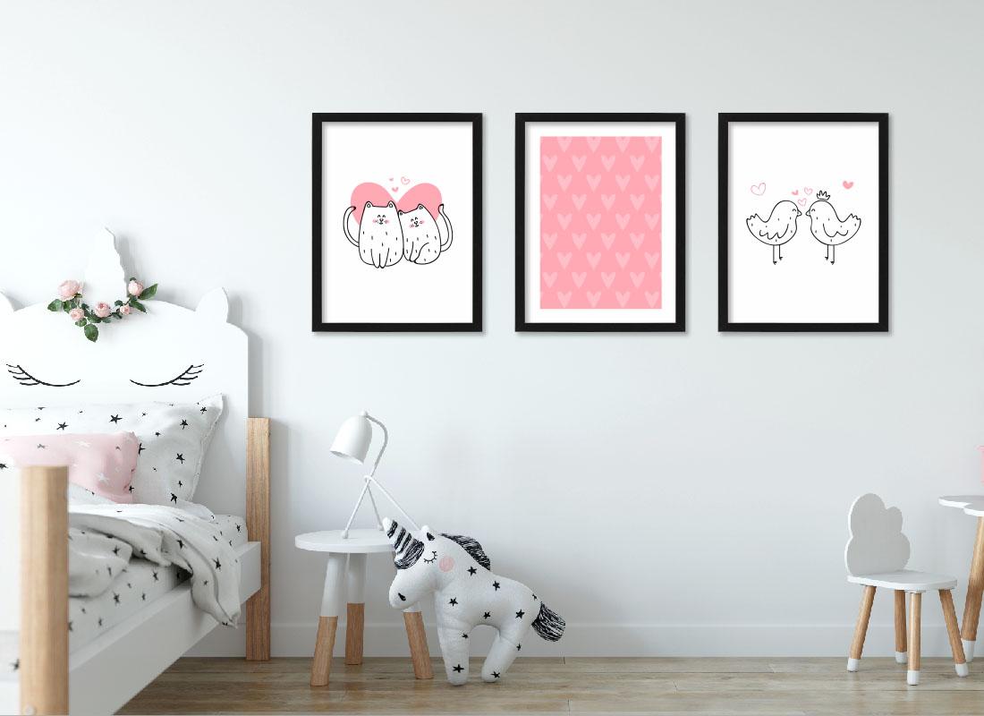 Plakaty dla dziewczynek