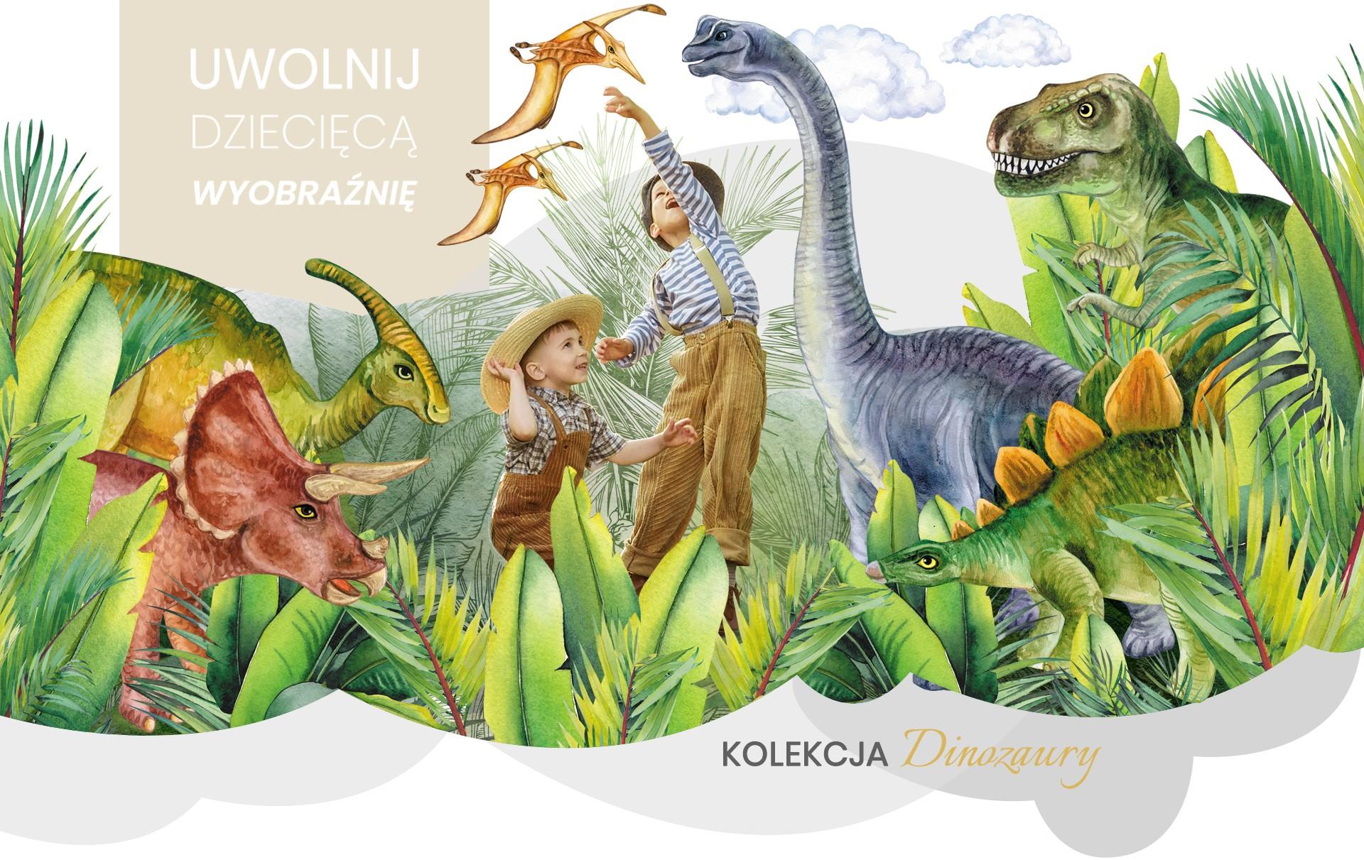 Naklejki na ścianę Dinozaury